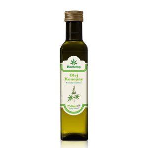 olej z nasion konopi BioHemp
