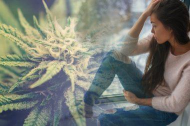 CBD na depresję i trudne chwile