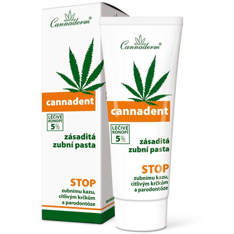 Cannaderm Cannadent konopna pasta do zębów
