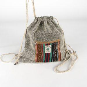 Plecak-worek bawełna i konopie