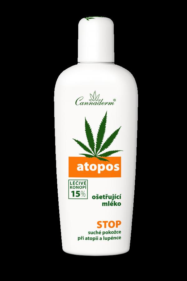 Cannaderm Atopos - Mleko do ciała