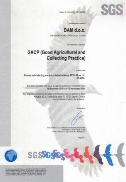 GACP-Certificate