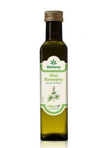 olej z nasion konopi BioHemp Hemp Oil