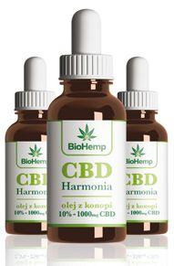 olejki CBD na efekt działania THC